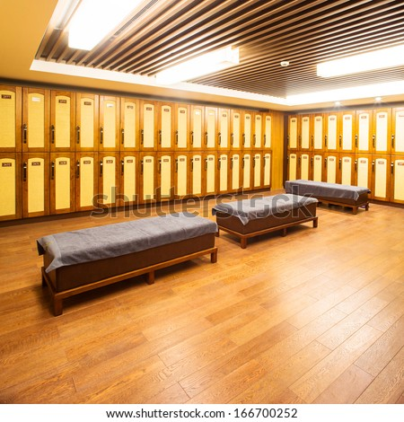 changing room  - stock photo
