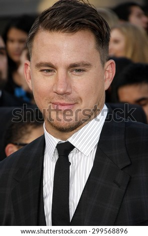 "Channing Tatum at the Los Angeles premiere of ""22 Jump Street"" held at the Regency Village Theatre in Los Angeles, United States, 100614."