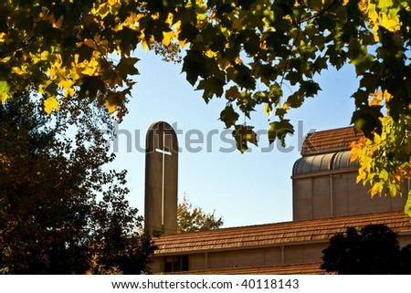 Chapel at Emory University - stock photo