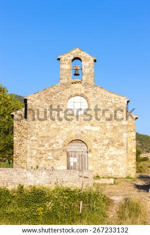 Chapel St. Jean de Crupies, Rhone-Alpes, France - stock photo