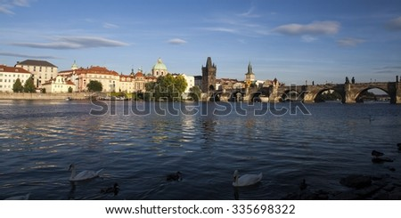 Charles Bridge in Prague, Czech Republic