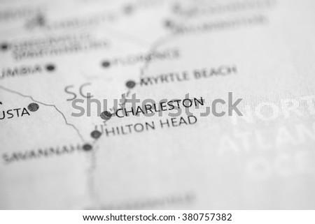 Charleston. South Carolina. USA - stock photo