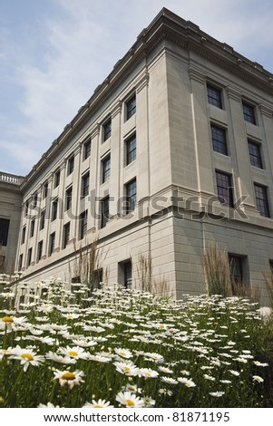 Charleston, West Virginia - State Capitol Building Complex - stock photo