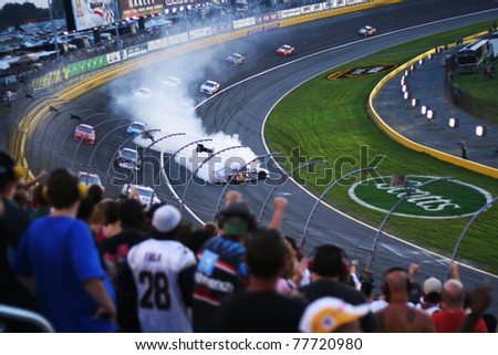 charlotte motor speedway stock images royalty free images