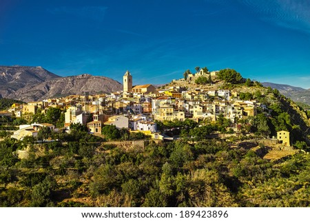 Charming little village of Guadalest