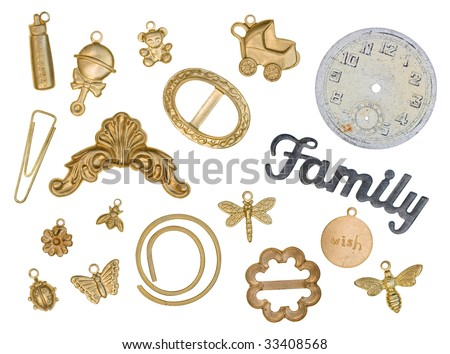 charms - stock photo