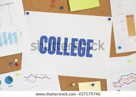 CHART BUSINESS GRAPH RESULT COMPANY COLLEGE CONCEPT - stock photo