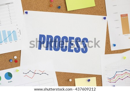 CHART BUSINESS GRAPH RESULT COMPANY PROCESS CONCEPT - stock photo