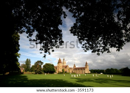Charterhouse School - stock photo