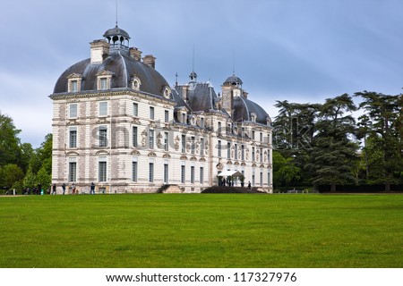 Chateau Cheverny, Loire Valley, France.