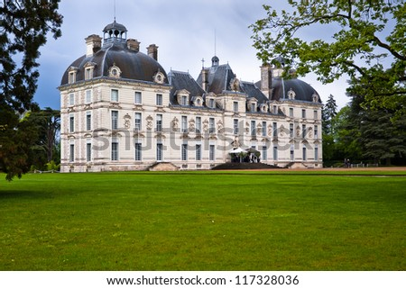 Chateau Cheverny, Loire Valley, France. - stock photo