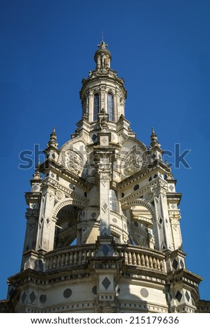 Chateau de Chambord, Loire Valley Castles, France - stock photo