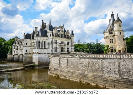 Chateau de Chambord, Loire Valley,UNESCO, France - stock photo