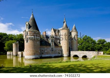 Chateau du Moulin, Lassay-sur-Croisne, Centre, France - stock photo