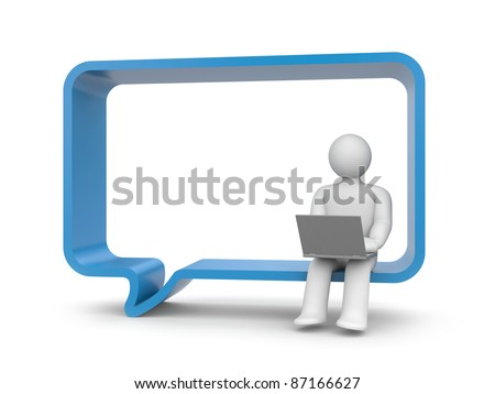 Chatting - stock photo