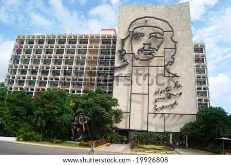 Che Guevara portrait - stock photo