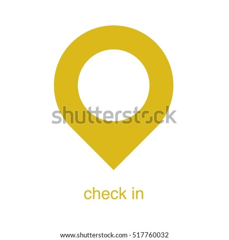 Design Pin Logo Green Color Stock Vector 428808919 Shutterstock
