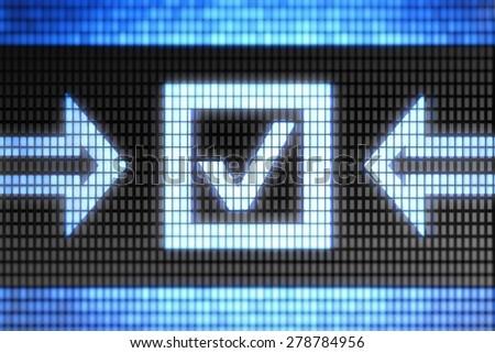 Checkbox - stock photo
