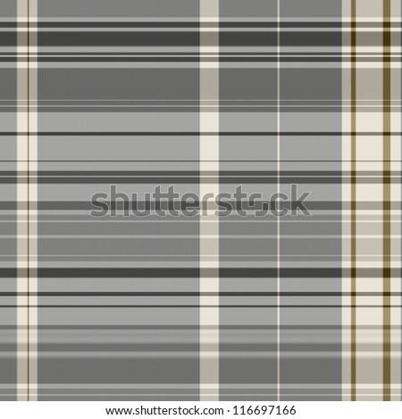 Checked grey seamless pattern - stock photo