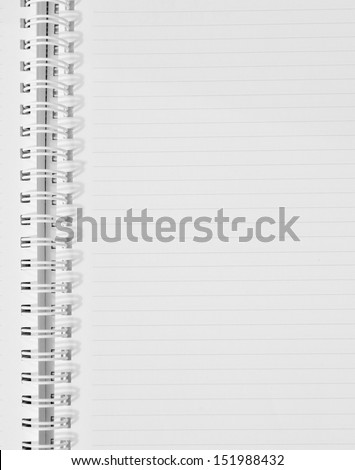 checked note paper  - stock photo