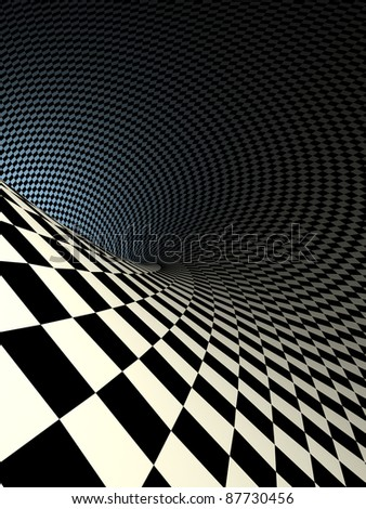 checkered texture 3d background illustration. high resolution - stock photo