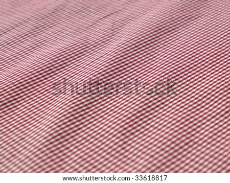 checkered vintage textile closeup. More of this motif & more textiles in my port. - stock photo