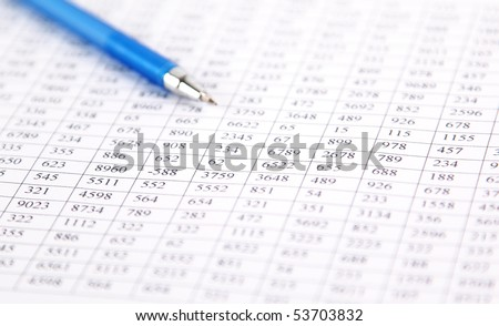 checking balance - preparation of a balance sheet