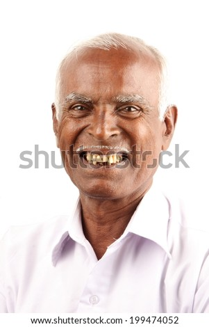 Cheerful Asian man. - stock photo