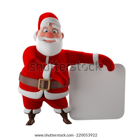 Poor Santa Shows Empty Pockets Stock Vector 19315294 ...