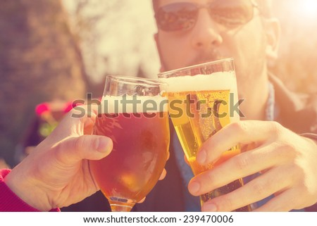 Cheers my friend! - stock photo