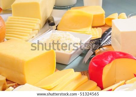 Cheese. - stock photo