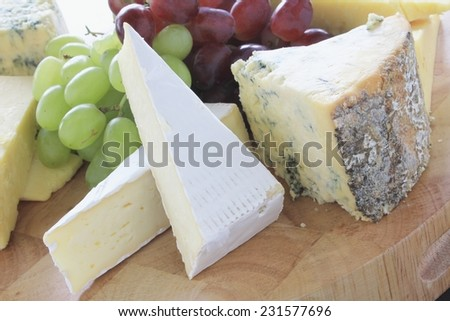 cheese board selection platter