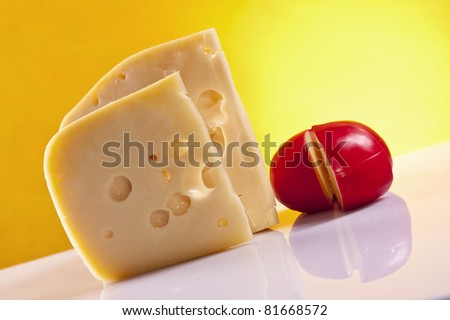 Cheese composition, wine and other specials