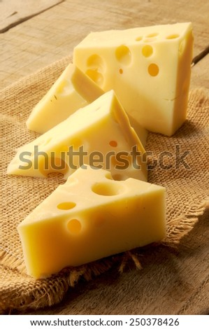 cheese from France - stock photo