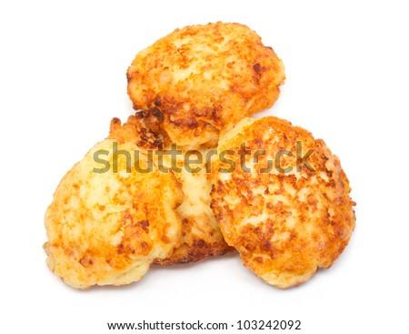 cheese pancakes - stock photo