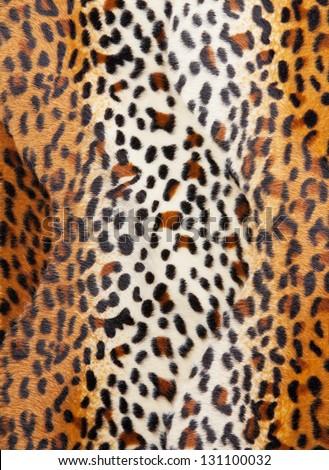 Cheetah skin Pattern texture - stock photo