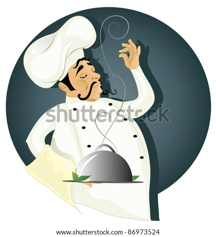 Chef  (also available vector version of this image) - stock photo