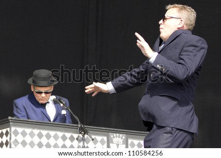 CHELMSFORD - AUG 19: Madness Performs at V Festival Chelmsford, AUG 19, 2012 in Chelmsford, UK