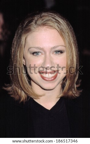 Chelsea Clinton at the premiere of RED DRAGON, 9/30/2002, NYC