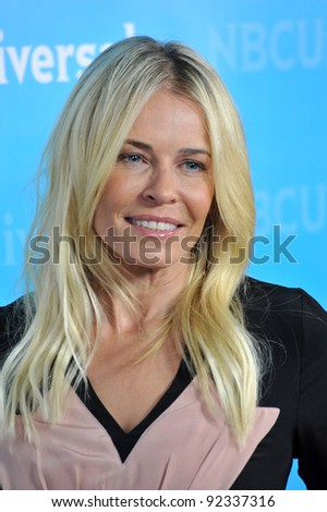 Chelsea Handler - star of Are You There, Chelsea? - at the NBC Universal Winter 2012 TCA party at The Athenaeum in Pasadena. January 6, 2012  Los Angeles, CA Picture: Paul Smith / Featureflash - stock photo