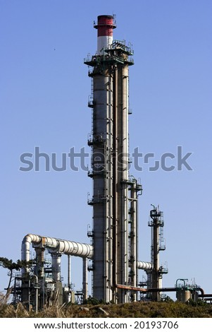 Chemical installation - part of a big refinery