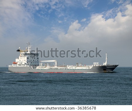 Chemical/Oil Products Tanker - stock photo