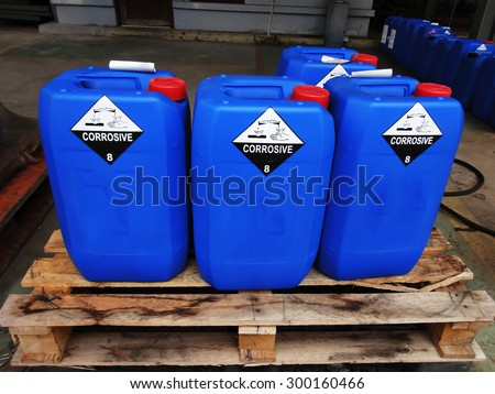 Chemical tank .  - stock photo