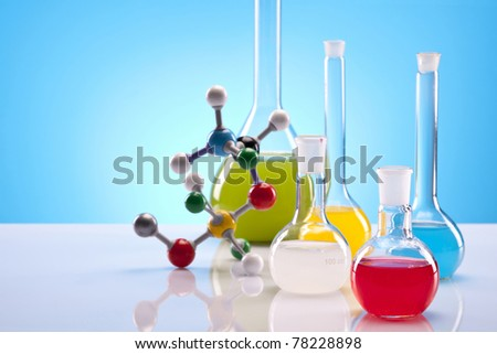 Chemistry Equipment - stock photo