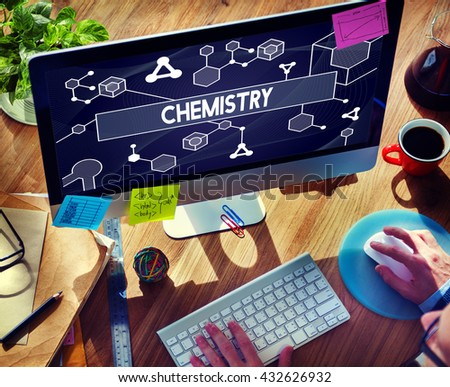 Chemistry Science Research Subject Education Concept - stock photo