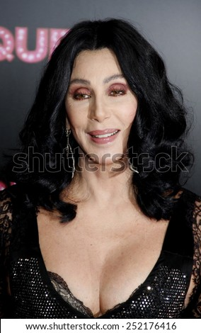 "Cher at the Los Angeles Premiere of ""Burlesque"" held at the Grauman's Chinese Theater in Hollywood, California, United States on November 15, 2010."