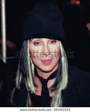 Cher at the premiere of STUCK ON YOU, NY, 12/8/03