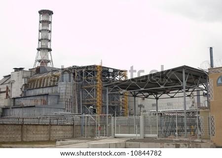 Chernobyl power plant - stock photo