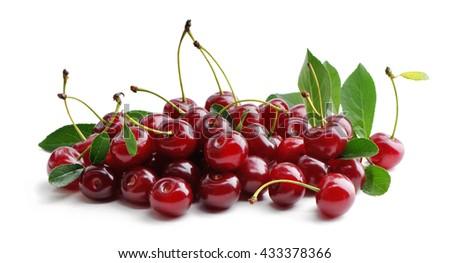 Cherry. - stock photo
