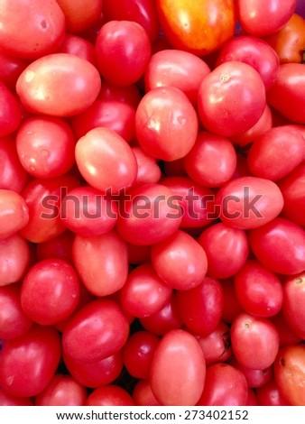 cherry tomato - stock photo